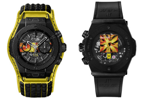 "Hublot e Depeche Mode, ""The Singles"" limited edition"