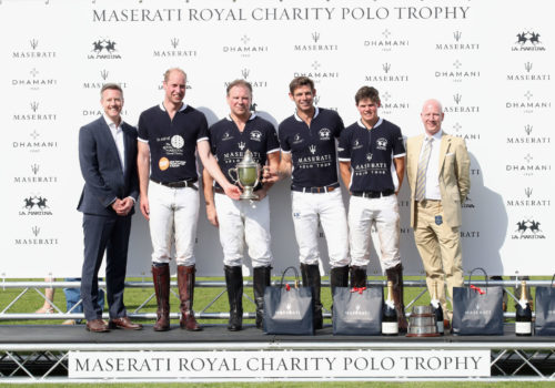 Maserati Royal Charity Polo Trophy: il principe William ospite speciale