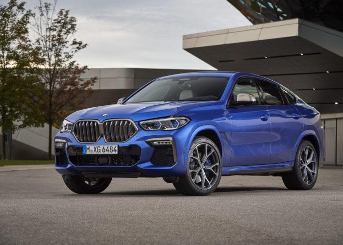 Nuova BMW X6, tra linee sportive e design innovativo