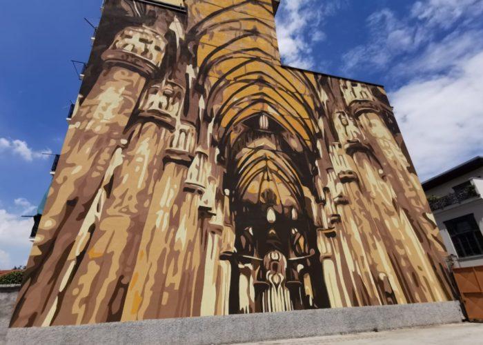 Duomo all'Ortica, un nuovo murales per raccontare Milano