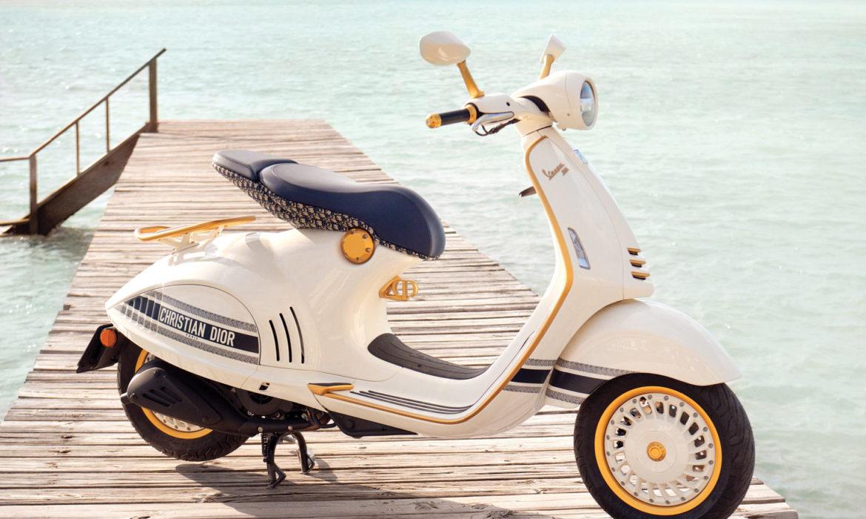 Vespa e Dior si incontrano nel nuovo modello Vespa 946