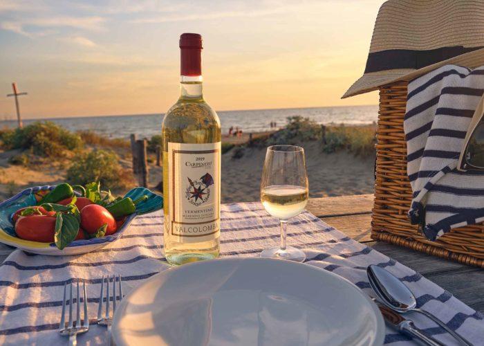 Un vino che nasce sul mare, per il mare