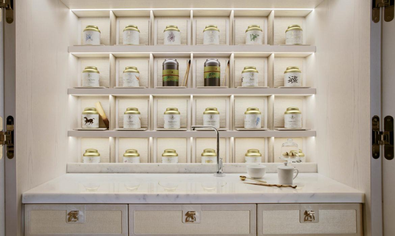Arredamento: lo scrigno dedicato al rituale del tè