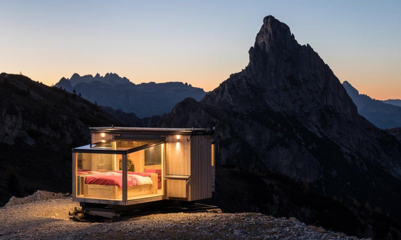 Una notte sotto le stelle, ai piedi delle Dolomiti