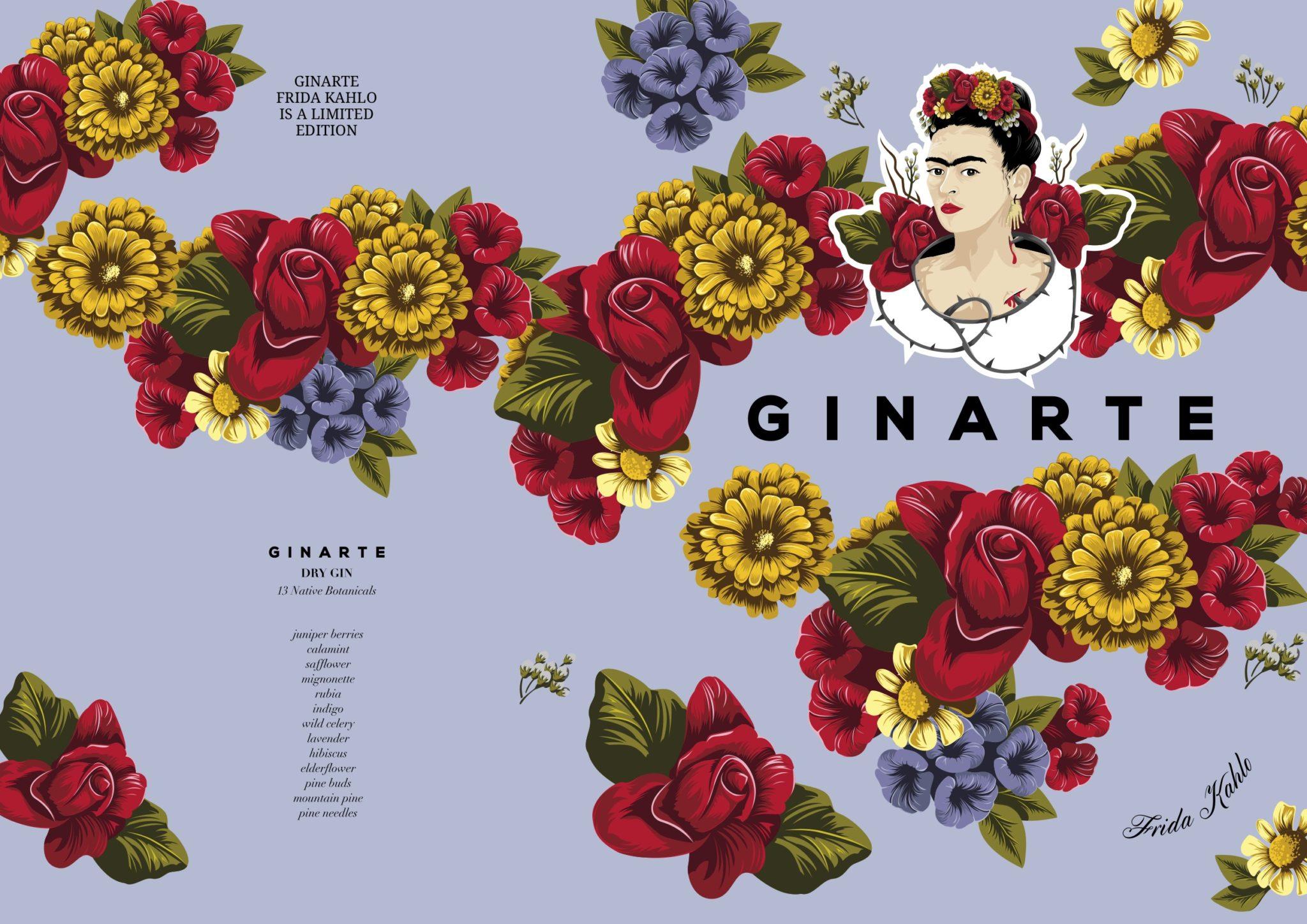 Ginarte Frida Kahlo