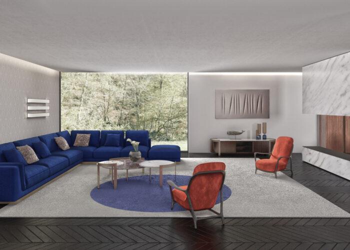 Può l'interior design nascere dal know how sartoriale?