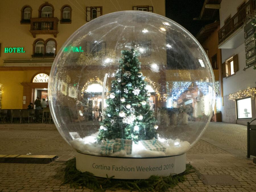 Cortina D'Ampezzo fashion weekend 2020