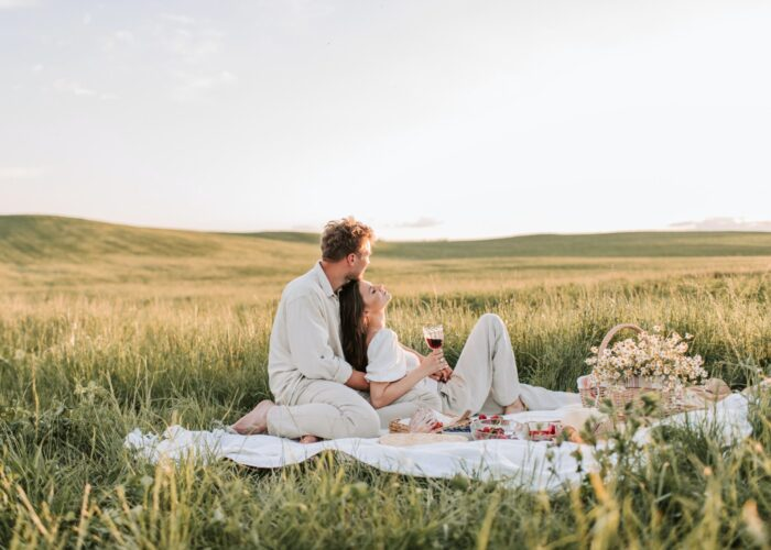 Le picnic sur l'herbe: raffinato e per tutti i gusti