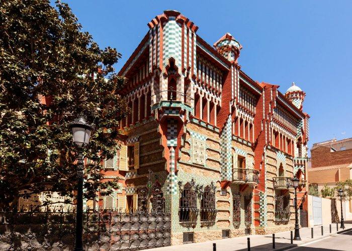 Una magica notte nella prima casa di Gaudì