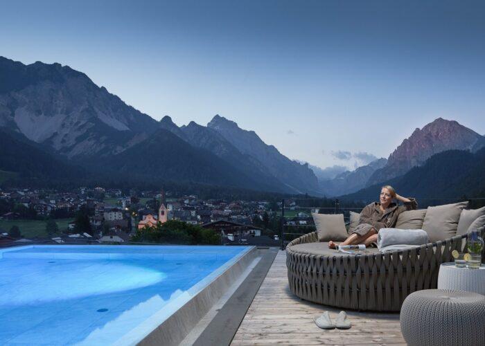 Il cuore del benessere si trova nelle Dolomiti