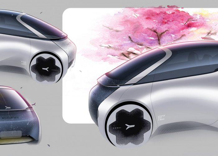 Icona Design: una freccia che viaggia verso il futuro