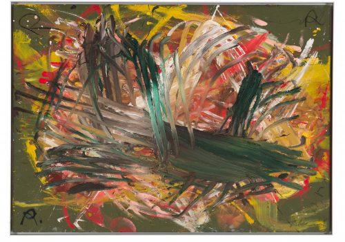 Colori nelle mani: Arnulf Rainer in mostra a Firenze