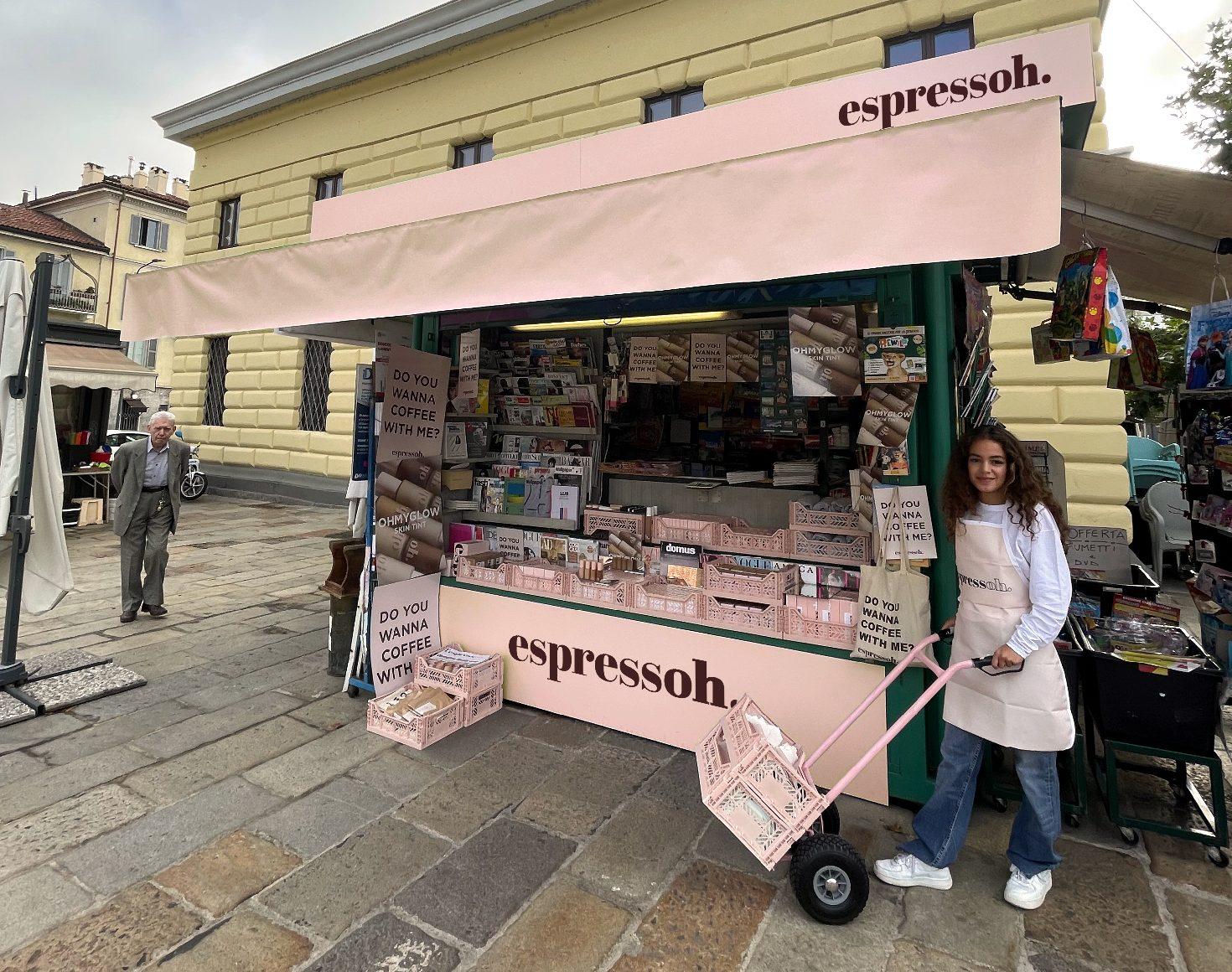 Espressoh temporary shop